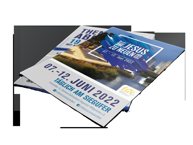 Flyer - Mit Jesus zu neuen Ufern 2019
